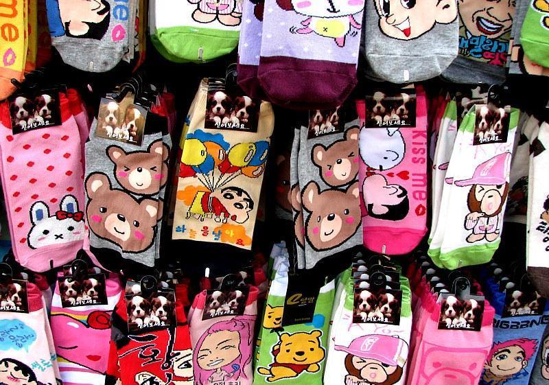 character socks souvenir