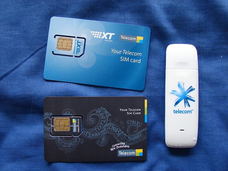 Korean SIM cards are similar