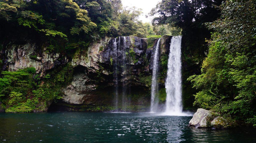 Cheonjiyeon Falls Jeju must-visit spots