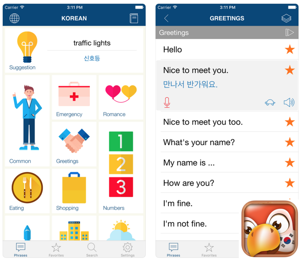 korean learning apps