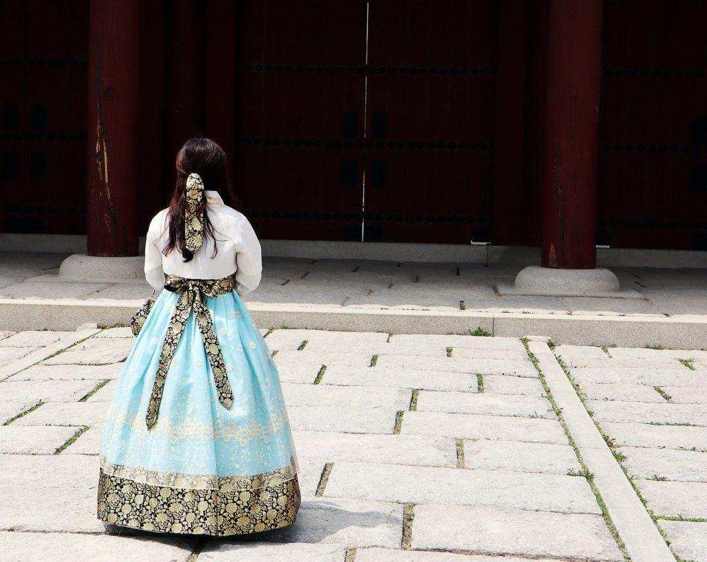 south korea hanbok