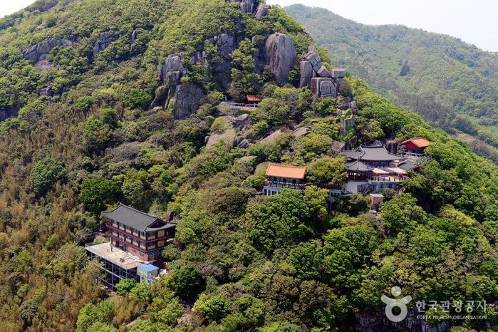 south korea temple