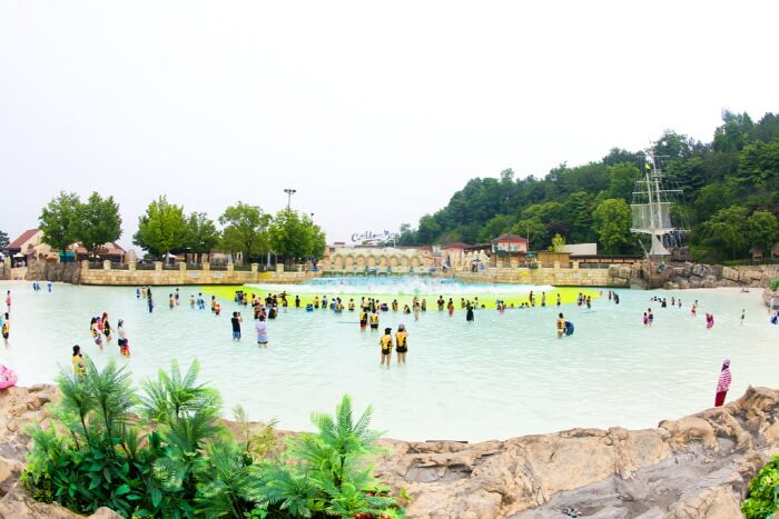 water parks in South Korea