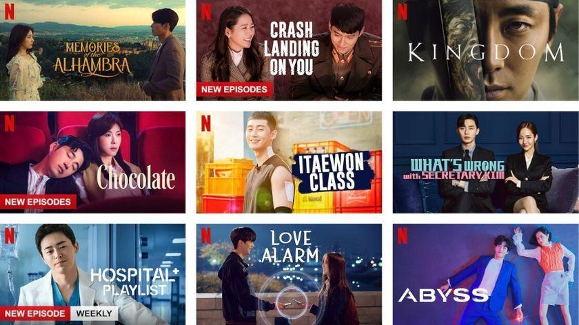 Penyediaan layanan streaming dan produksi Netflix menghentikan produksi konten dari Korea Selatan