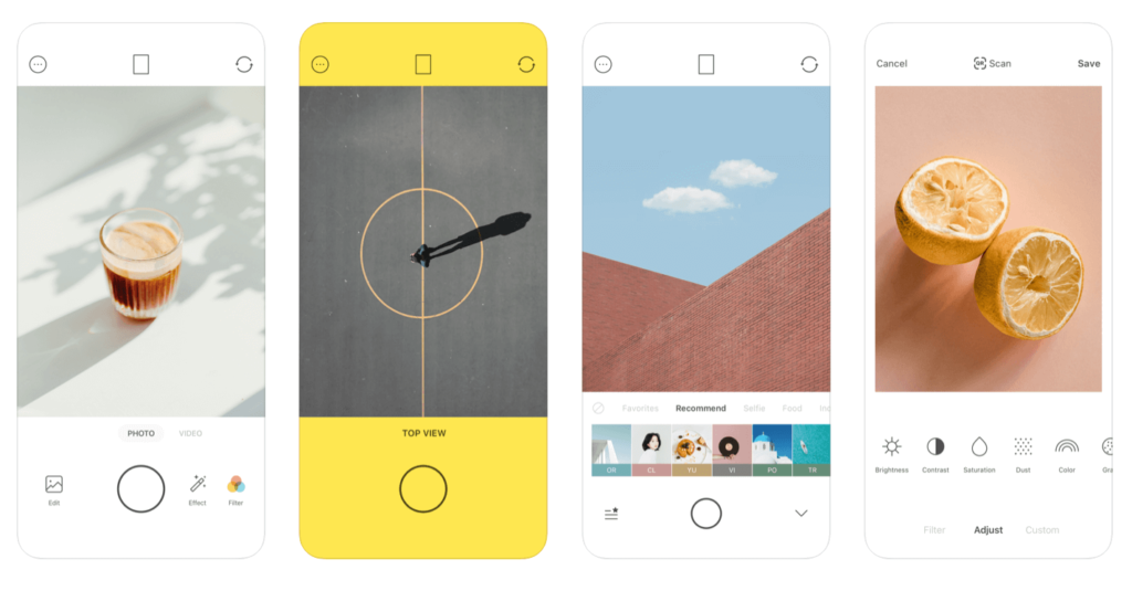 Korean selfie app