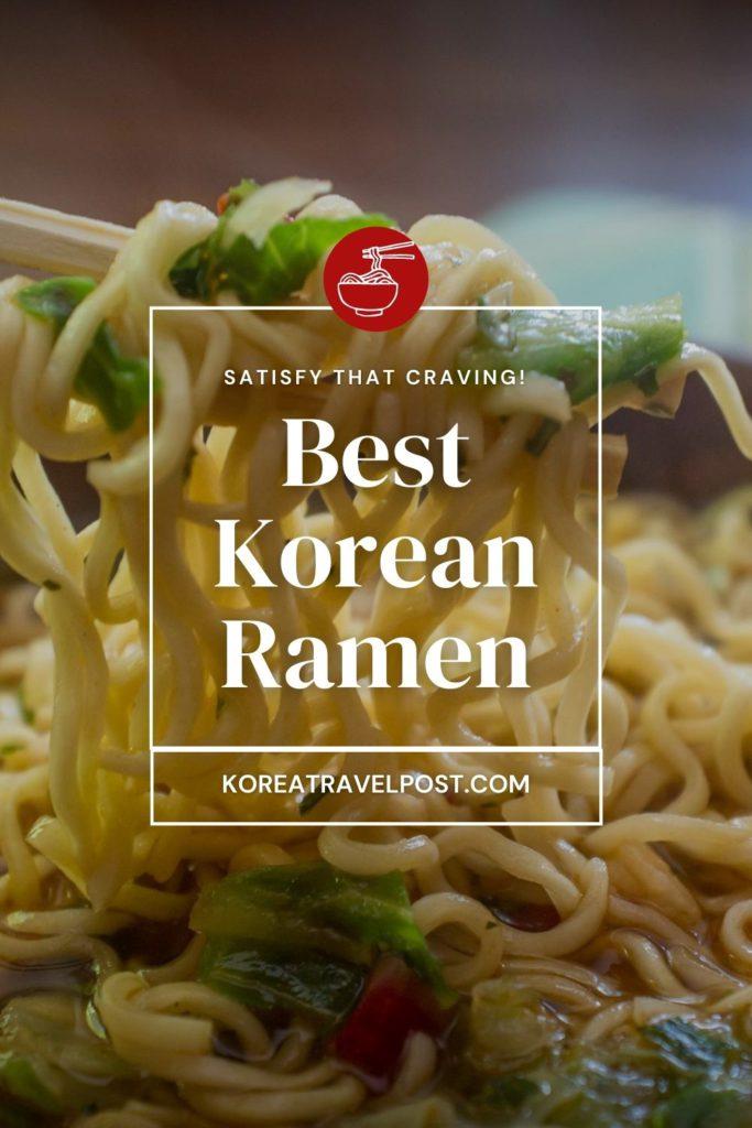 korean ramen koreatravelpost