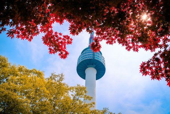 N Seoul Tower romantic destinations