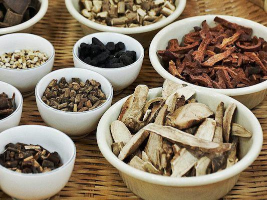 Traditional medicines from Yangnyeongsi Herbal Medicine Market, day trips busan daegu