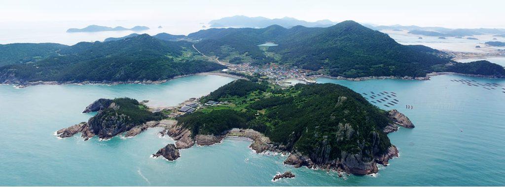 south korea island winter soando