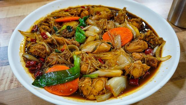 #1 Jjimdalk (Korean braised chicken) korean winter food