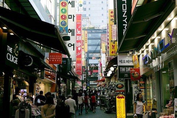 Namdaemun Market Area seoul neighborhoods to stay