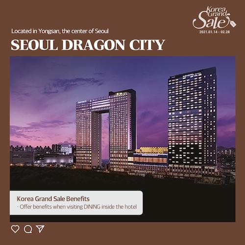korea grand sale hotel offers
