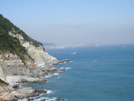 Taejongdae Cliffed Coast