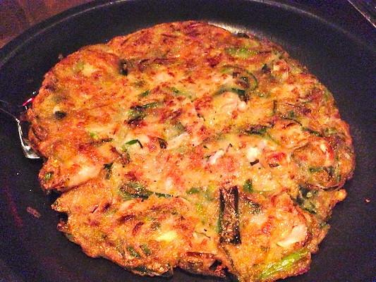 street food incheon pajeon