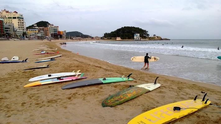 5. Songjeong Beach best busan beaches