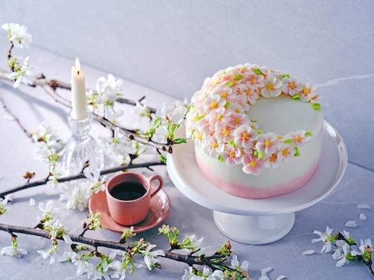 cherry blossom snacks