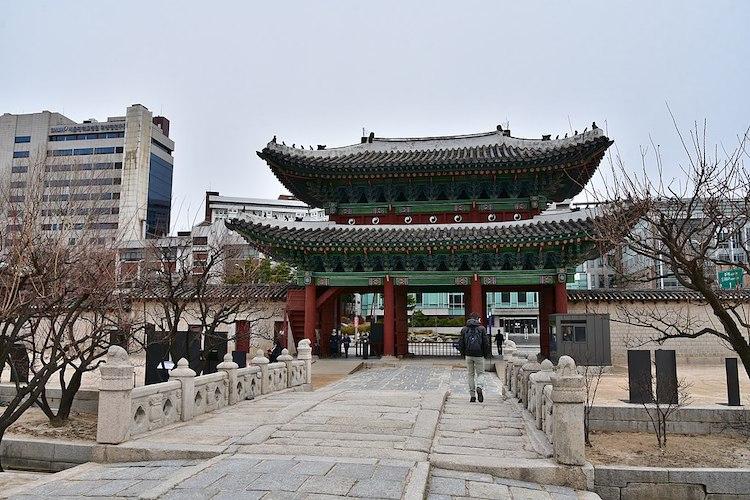 Changgyeonggung Palace Honghwamun Gate