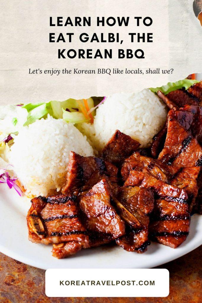 korean bbq galbi