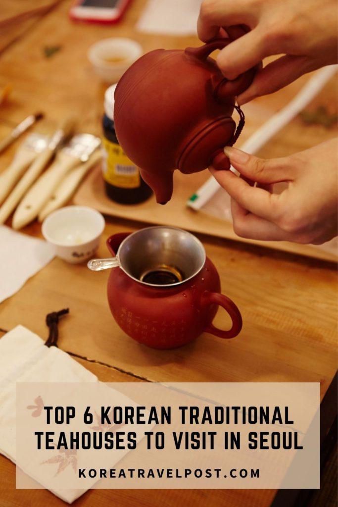 korean teahouses