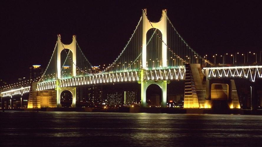 """Gwangan Bridge - Busan"" by Matt@PEK is licensed under CC BY-NC-SA 2.0"