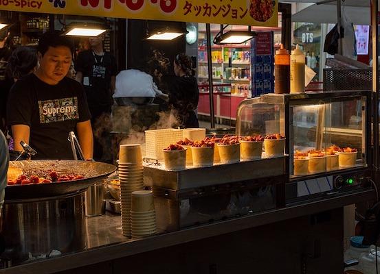 Myeongdong Street Food Alley