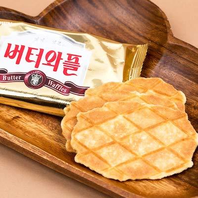 crown butter waffles