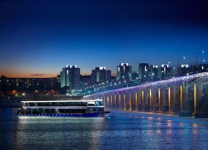places visit at night korea
