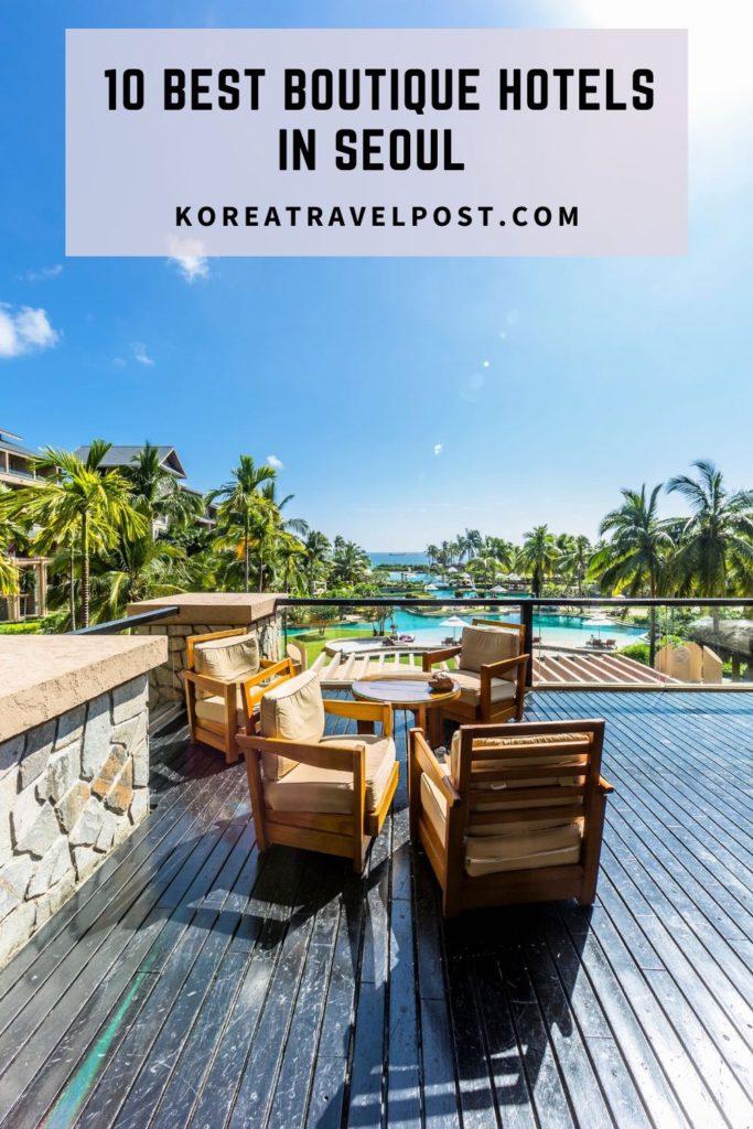 Seoul boutique hotels