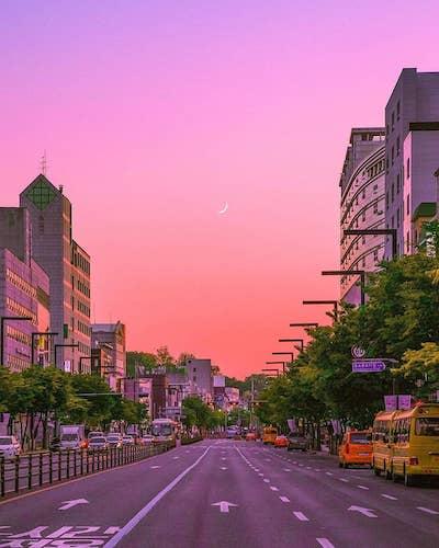 Around Hansung University Station
